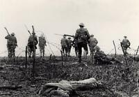 Battle of the Somme - Front Line 1916 Canvas Wall Art Poster Print World War 1