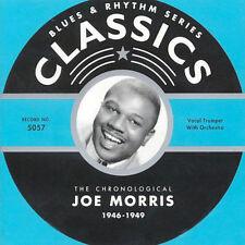 1946-1949 by Joe Morris-CLASSICS CD LONG OUT OF PRINT NEW SEALED