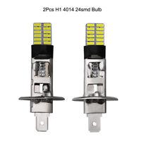 2Pcs H1 24-SMD LED Feu de Brouillard 7000K-8000K Pour Les Voitures
