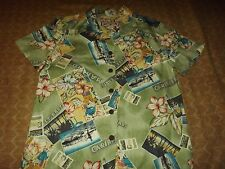 LADIES CARIBBEAN JOE TROPICAL CASUAL SHIRT sz SMALL