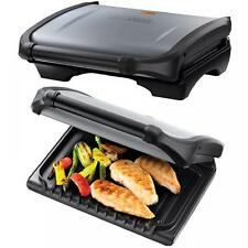 GEORGE FOREMAN 19920 SILVER GRILL FAMILY SANDWICH BBQ PANINI BURGER PRESS MAKER