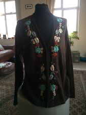 Boden Cashmere Blend Cardigan Size 18Nwt