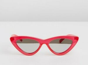 Le Specs Luxe Adam Selman Last Lolita *NEW W TAGS + CASE** Red LIMITED EDITION