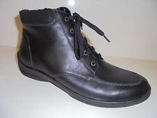 312802 Waldläufer Damenstiefelette Boots Leder für Einlagen schwarz UK 9 Gr.43