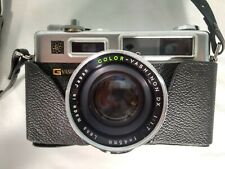 Yashica Electro 35 Gsn Rangefinder 35mm Film Camera With Case