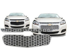 '14-15 Chevrolet Malibu LS & LT Chrome Snap On Plastic Grille Insert # GI/128