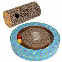Cat Orbit Cardboard Scratch & Claw N Roll Pad Cat Scratcher Interactive Toy