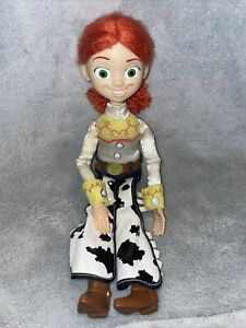 Thinkway Disney Pixar Toy Story Signature Collection Jessie Doll Pull String