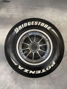 Williams 2007 F1 Rim Wheel Bridgestone Slick Tyre Rosberg Rare Rays