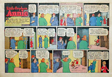 Little Orphan Annie by Gray - large half-page color Sunday comic - June 11, 1944