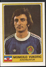 Football Sticker - Panini Euro Football 1976 - No 163 - Momcilo Vukotic