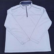 Mens XL Beige Long Sleeves IZOD Turtle Neck Winter Jacket