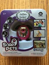 WowWee Snap Pets Selfies In A Snap Portable Bluetooth Camera, Pink Rabbit