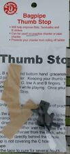 Thumb Stop Aid for Learner Practice Chanter Highland Bagpipe Pipes