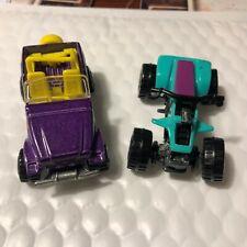 Vintage Kool-Aid Suzuki Quadracer and Trailbuster Toy Cars
