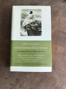 Iwan Turgenjew - Meistererzählungen / Manesse Bibliothek