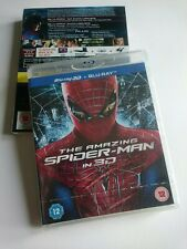 The Amazing Spider-Man (3D Blu-ray, 2012, 2-Disc Set)