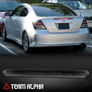 Fits 2005-2010 Scion tC [Black/Smoke] Full LED Third 3rd Brake Light Tail Lamp
