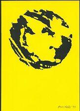 Konvergenzen Berlin 1991 - Originalgraphik u. signiert!
