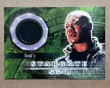 Stargate SG-1 Costume Card - C5 Teal'c costume Material