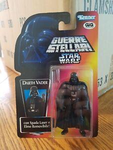 DARTH VADER Italian Guerre Stellari GIG Star Wars POTF2 Red Card SS/LT Rare
