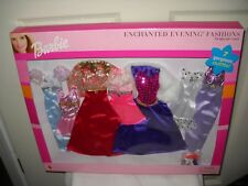 #9827 RARE NRFB Mattel Barbie 7 Gorgeous Enchanted Evening Fashion Set #68381
