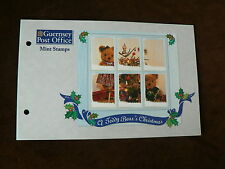 Guernsey Presentation Pack 1997, Teddy Bear's Christmas, Mint, MNH