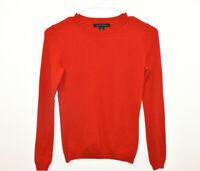 Banana Republic Extra Fine Merino Wool Sweater Women's XS Petite Red