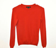 Banana Republic Extra Fine Merino Wool Sweater Women's XS Petite Red