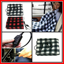 Battery Powered Heated Blanket Electric Throw Warm Portable Winter Soft Bedding