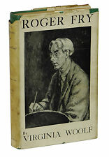 Roger Fry ~ VIRGINIA WOOLF ~ First Edition ~ 1st UK Printing 1940 Hogarth Press