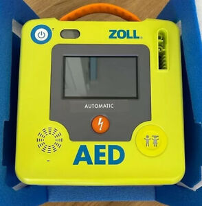 Zoll AED 3 Fully Automatic Defibrillator With Uni-padz Brand New In Box