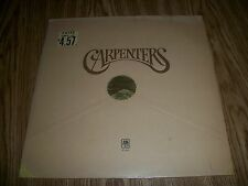 THE CARPENTERS SELF TITLED, FACTORY SEALED 1ST PRESS, WITH RARE HYPE STICKER .