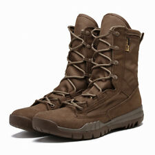 Men's Work Boots Combat Tactical Slip Resistant Military Style Heavy Duty Boats
