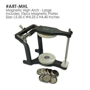 BesQual Magnetic Articulator High Arch (Large) Includes:10pcs of Magnetic Plates