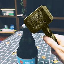 Thor's Hammer Shape Beer Opener Bottle Opener Bar Home Decoration Bronze Funny