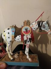 """2003 Trail of The Painted Ponies """"War Pony"""" Collectible Horse Figurine 1E/6063"""