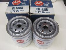 NOS Chrysler Dodge Plymouth AC PF-20 Oil Filters 58-73 V8 Pair 59 60 61 62 63 64
