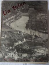Ville de Nantes / Bilan administration municipale de mai 1945 à Octobre 1947