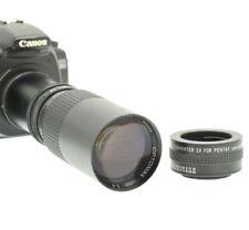 CANON EOS EF fitting 300mm 600mm TELEPHOTO PRIME LENS for DSLR / SLR