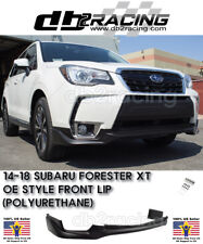 OE-Style Front Lip (Urethane) Fits 14-18 Subaru Forester XT Premium Touring