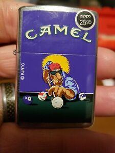 1997 Joe Camel Zippo Playing Pool