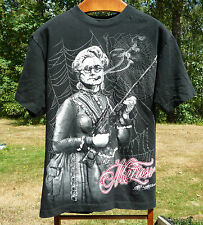 MAFIOSO BLACK WIDOW SPIDER, GUN TOTIN' ,CIGAR SMOKIN' GRAMMA MAFIOSO XL SHIRT