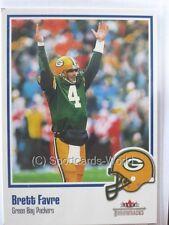 Brett Favre - 2002 Fleer Throwbacks #91 - Green Bay Packers Playercard