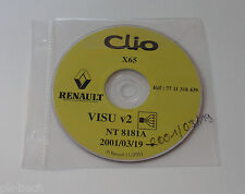 Schematics On CD Renault Clio - Stand 03/2001