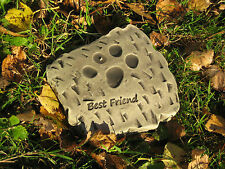 best friend pet cat/dog memorial stone garden ornament  <<VISIT MY SHOP>>