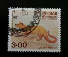 SRI LANKA SCOTT# 729  USED   ANIMAL TOPICAL