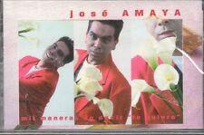 JOSE AMAYA   MIL MANERAS DE DECIR TE QUIERO  NEW-SEALED    CASSETTE