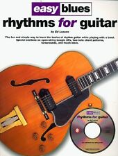 LEARN TO PLAY BOOK & CD EASY BLUES RHYTHMS FOR GUITAR
