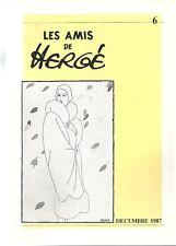 TINTIN HERGE AMICI DI HERGÉ A.D.H N°6